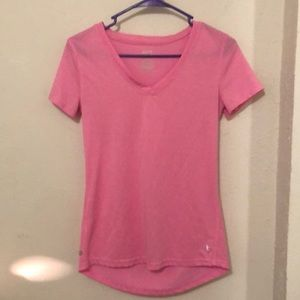 Pink Danskin Workout Shirt